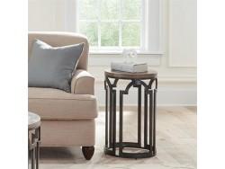 Estelle Round Chairside Table