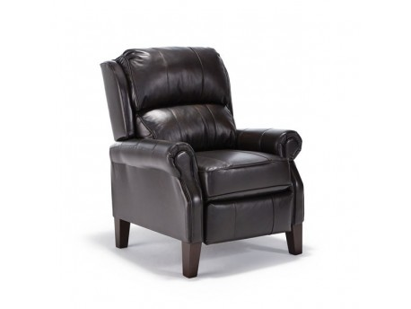 Joanna Leather High Leg Recliner